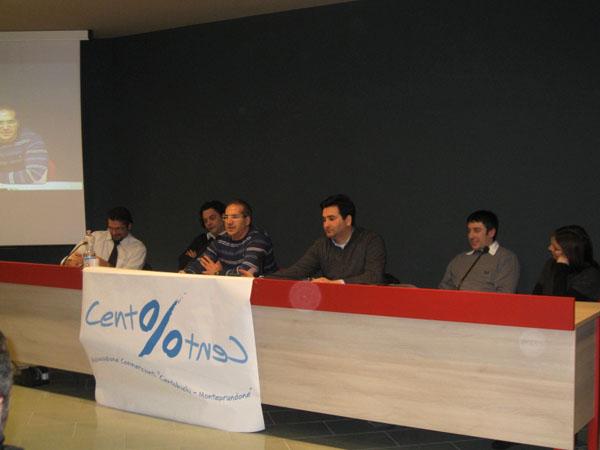 La riunione dell'associazione dei commercianti di Monteprandone