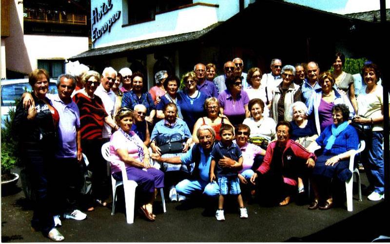 Il soggiorno degli anziani di Grottammare nel 2010