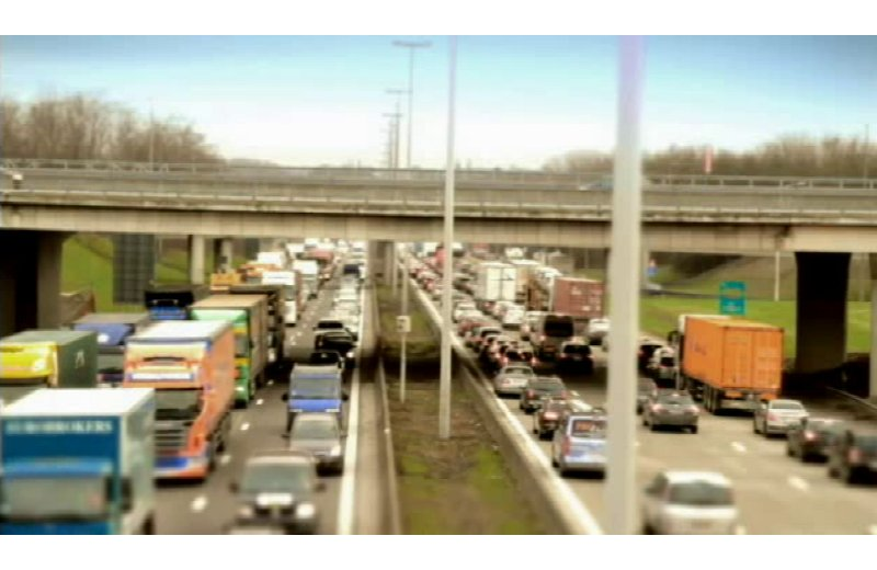 Traffico autostradale