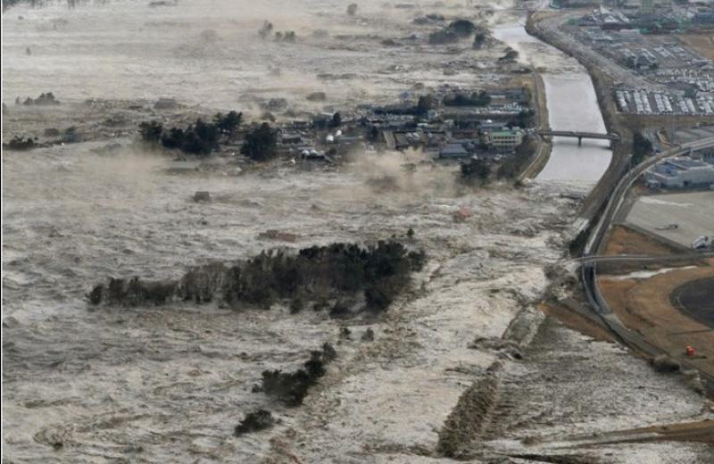 Lo tsunami in Giappone