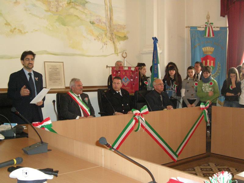 Cupra, Unità d'Italia