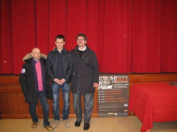 Da sinistra: Mauro Vannini, Stefano Trafaglini, Massimo Pertusi