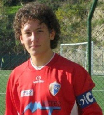 Il giovane Cristian Belardinelli