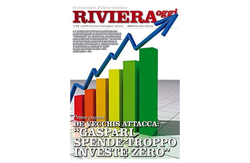 Riviera Oggi numero 865, la copertina per l'edizione di San Benedetto