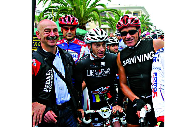 Bovara del Pedale Rossoblu, Yuri Chechi e Fabio Roscioli