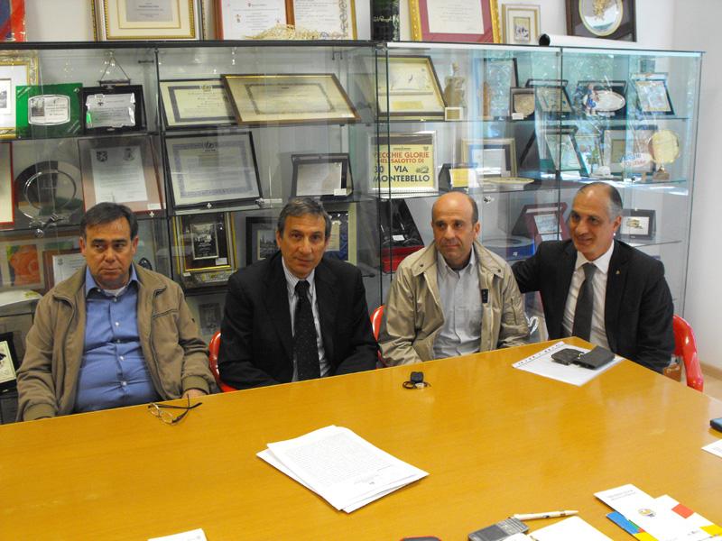 Giancarlo Amabili, Romolo Bugari, Eldo Fanini, Filippo Olivieri
