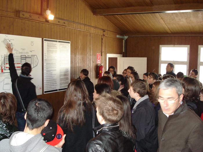 Studenti in visita a Mauthausen