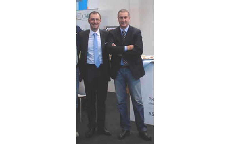 Gabrielli e Calvaresi al TTI di Rimini (archivio)
