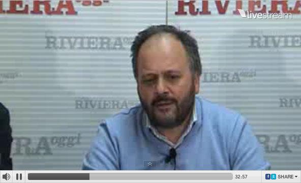 Giovanni Gaspari durante YouRiviera