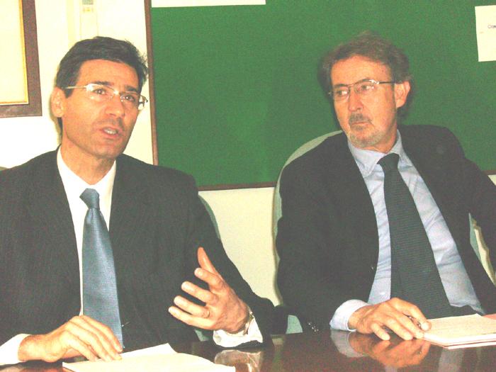 Ospedale: il nuovo primario di Chirurgia Walter Siquini e il direttore Antonio Maria Novelli