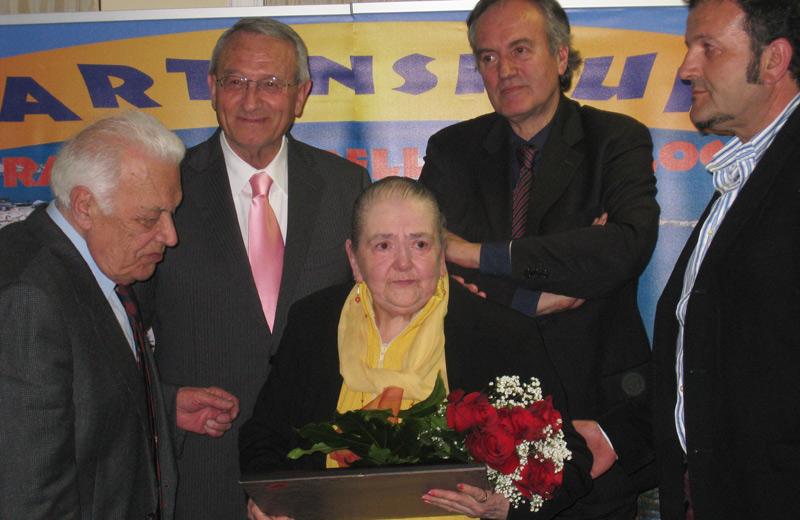 Serafina Celi vince il Premio Personalità del 2010