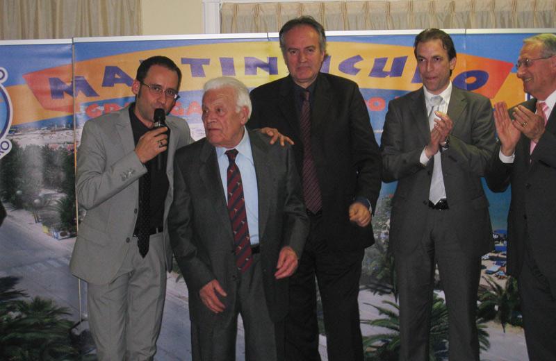 Il dottor Ermanno Basili si classifica al secondo posto per il Premio Personalità del 2010