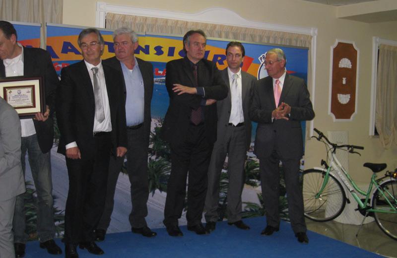 Vincenzo Spinosi e Amedeo Corsi premiati per l'Attività martinsicurese dell'anno
