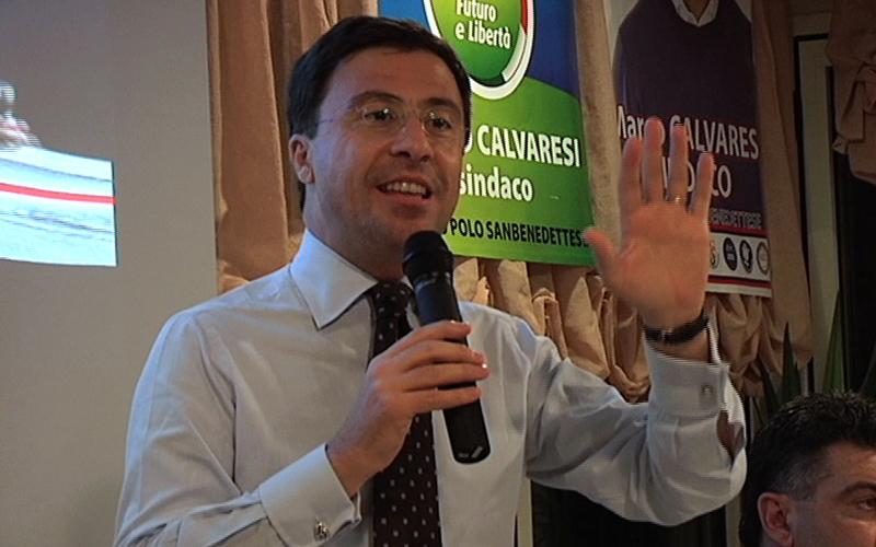 Italo Bocchino a San Benedetto per Calvaresi