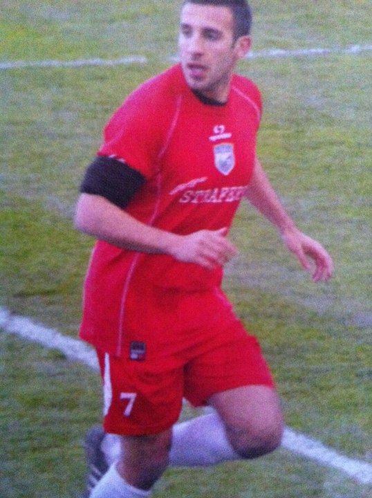 L'attaccante italo-australiano del Centobuchi  Anthony Paul Carioti  , in prestito dalla Samb. Per lui 6 reti finora in questa stagione.