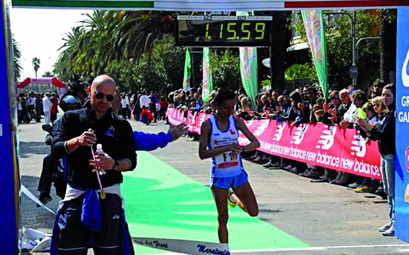 Maratonina dei Fiori 2011, Marcella Mancini