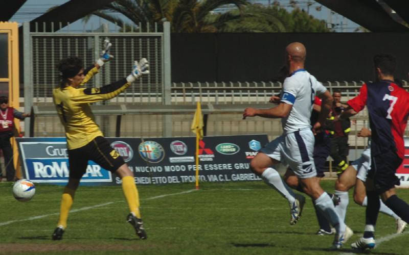 Samb-Renato Curi Angolana, il gol di Di Rito (ph. Troiani)