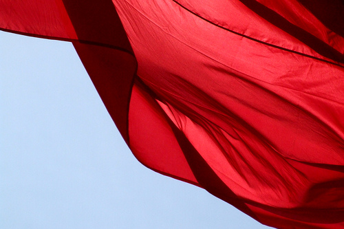 Bandiere rosse di appuntamenti