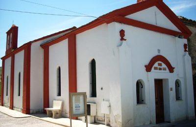 La chiesetta di San Vincenzo Ferreri nel quartiere casasanta