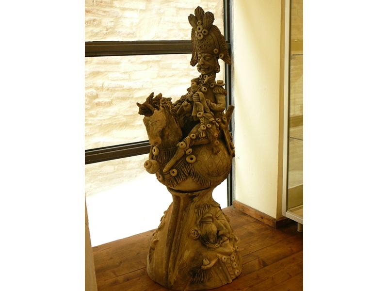 cuco gigante presso museo della terracotta