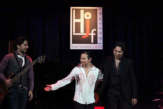 Da sinistra: Julian Heredia, Israel Varela, Diego Amador
