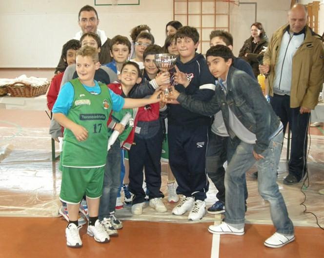 Grottammare, seconda classificata al torneo Mini Basket