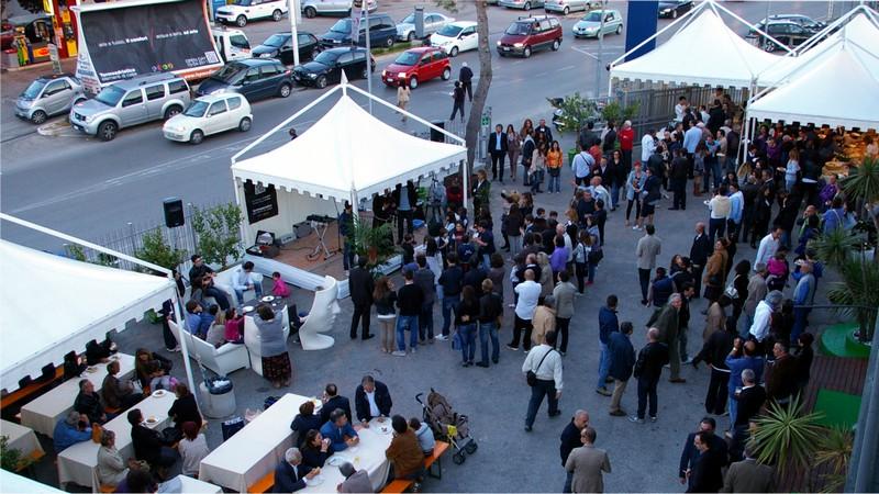 Termoadriatica, l'Open Day per l'inaugurazione del nuovo show room: l'inizio dell'inaugurazione