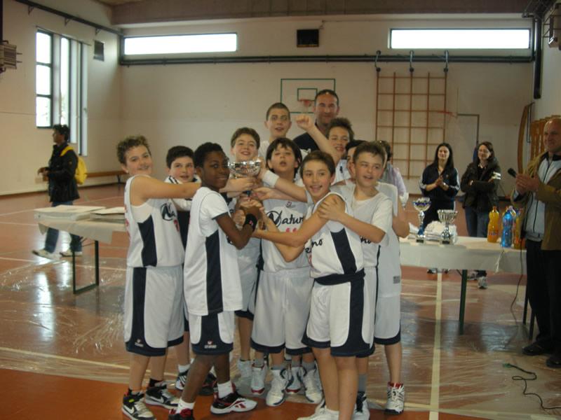 Civitanova, prima classificata al Torneo Mini Basket