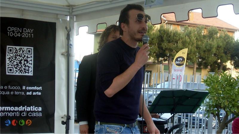 Termoadriatica, l'Open Day per l'inaugurazione del nuovo show room: Giorgio Montanini