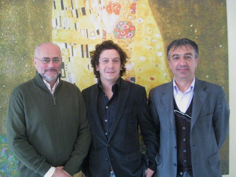Giandomenico Camilli, Jacopo Mozzoni e Roberto Di Girolami di