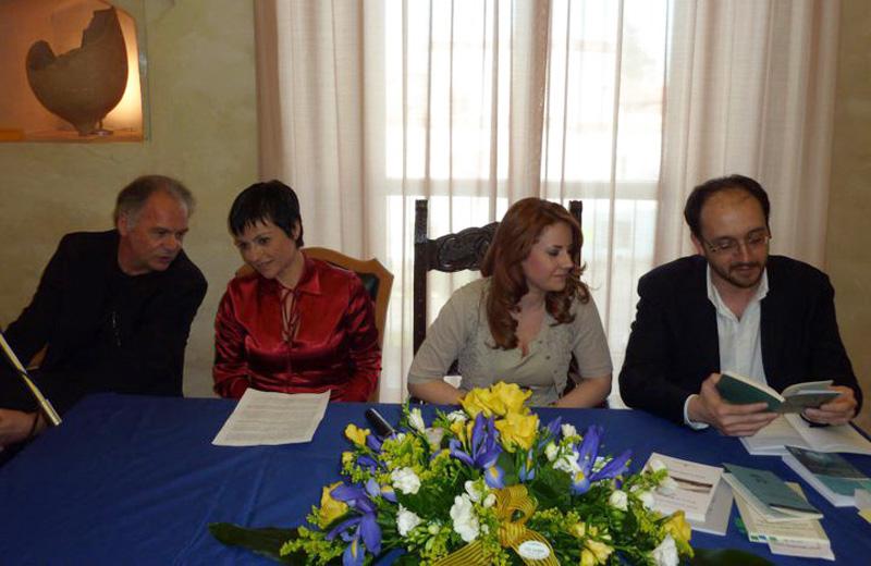 La presentazione dell'audiolibro al Museo Archeologico di Martinsicuro