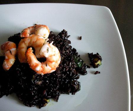 Una gustosa ricetta con il riso Venere