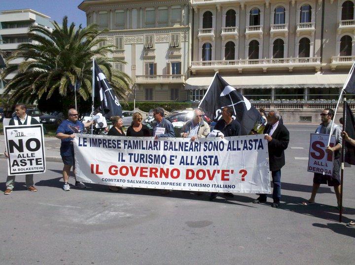 Itb, protesta a Roma il 12 aprile
