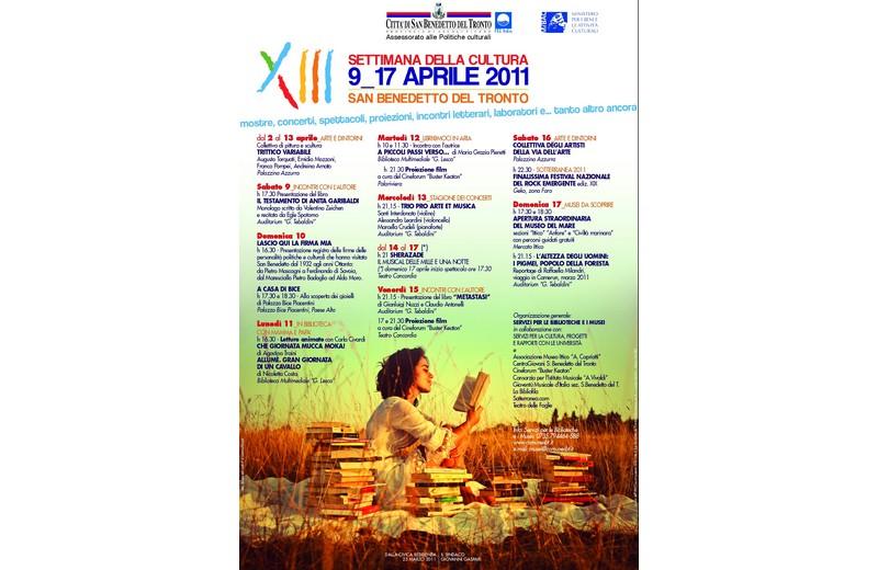 Settimana della Cultura 2011, il programma a San Benedetto