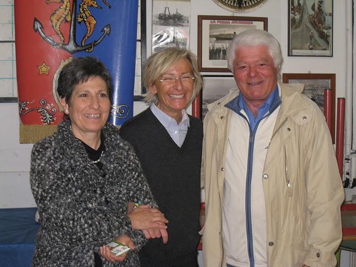 Da sinistra: Maria Pia Silla, Margherita Sorge, Pasquale Pignati
