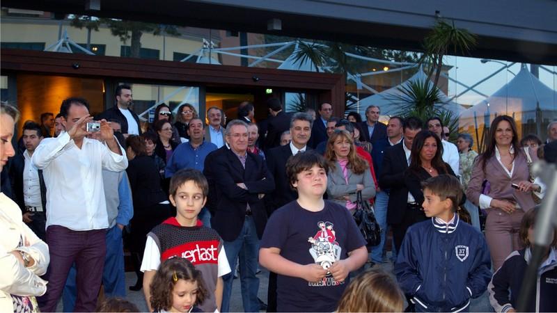 Termoadriatica, l'Open Day per l'inaugurazione del nuovo show room: il sindaco di Grottammare Luigi Merli