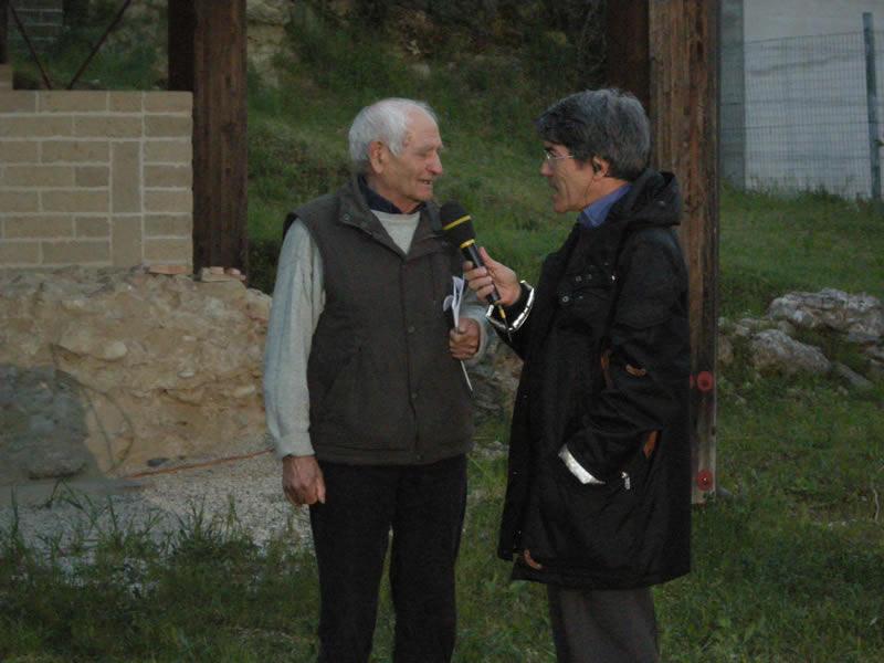 Raffaele Ciarrocchi intervistato da Maurizio Blasi, Tg Itinerante