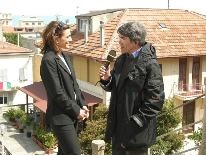 L'archeologa Nicoletta Frapiccini al Tg Itinerante