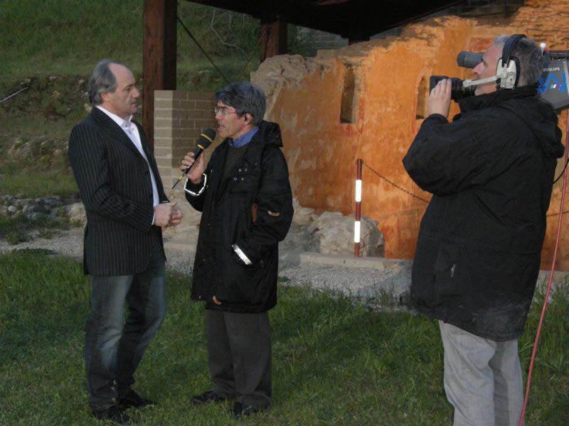 Settimio Tassotti intervistato da Maurizio Blasi, Tg Itinerante