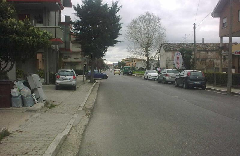 Via Trento (foto Città Attiva)