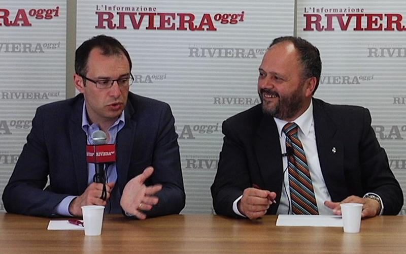 Bruno Gabrielli e Giovanni Gaspari nel faccia a faccia di YouRiviera