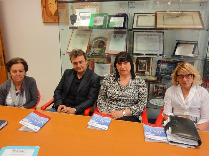 Da sinistra, Antonia Quarticelli, Pietro Infriccioli, Cristina Paci e Loredana Emili