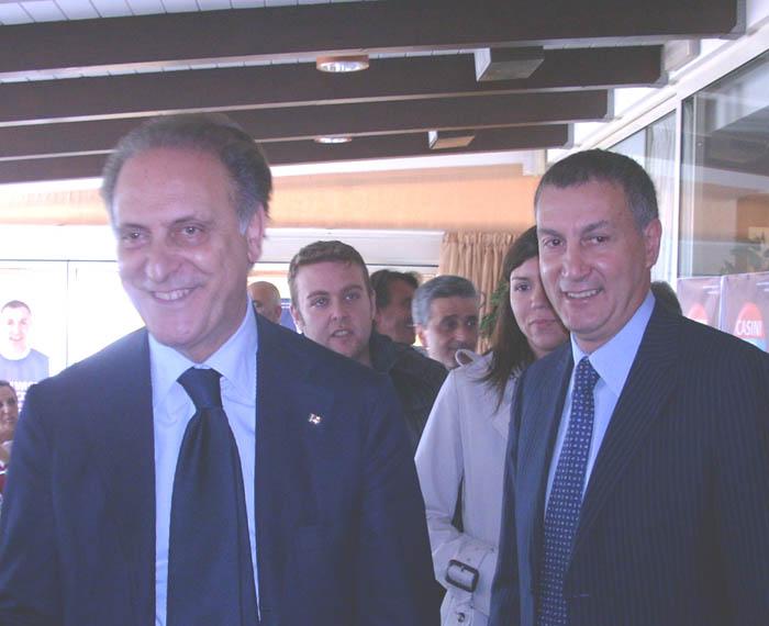 Lorenzo Cesa e Marco Calvaresi