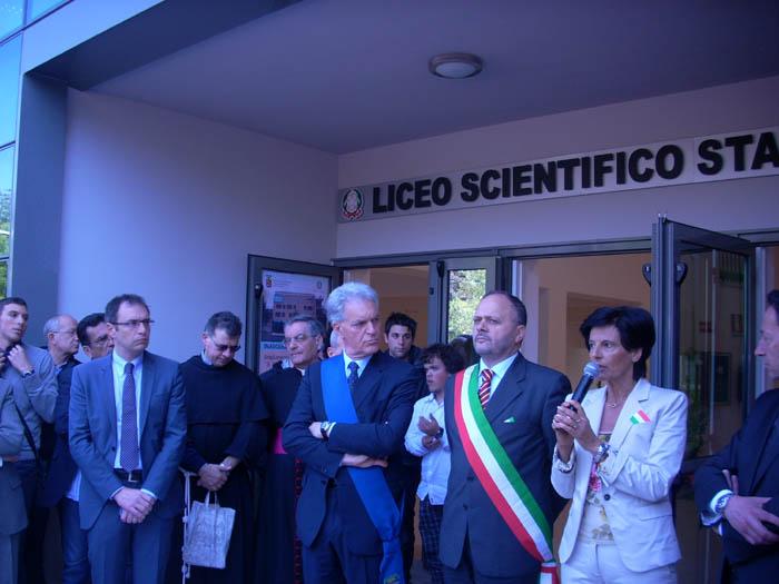 Liceo Scientifico, inaugurazione della nuova ala