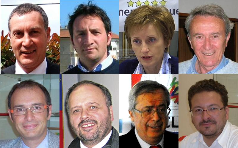 Gli otto candidati sindaco a San Benedetto 2011