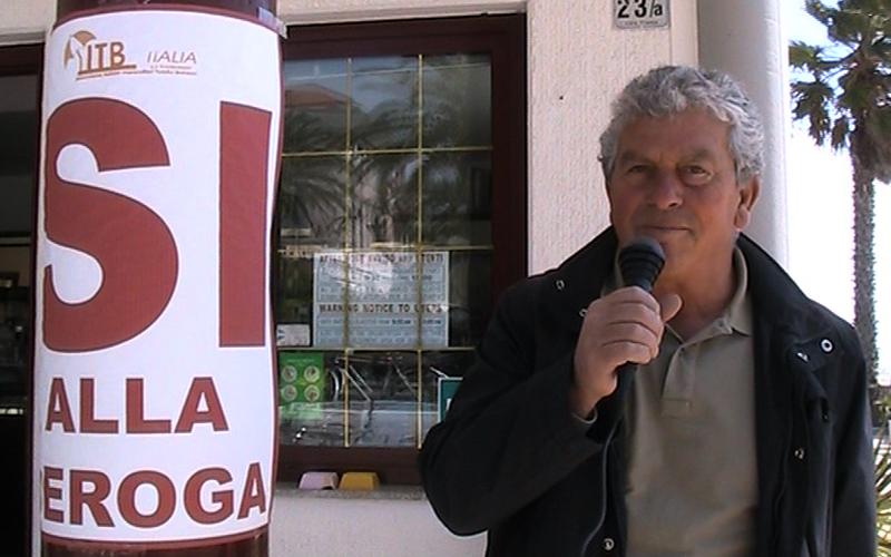 Il presidente di Itb Italia, Giuseppe Ricci dopo l'approvazione del decreto legge