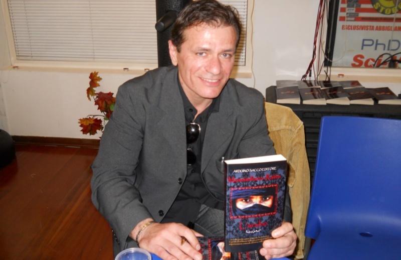 Massimiliano Ratta con il nuovo libro