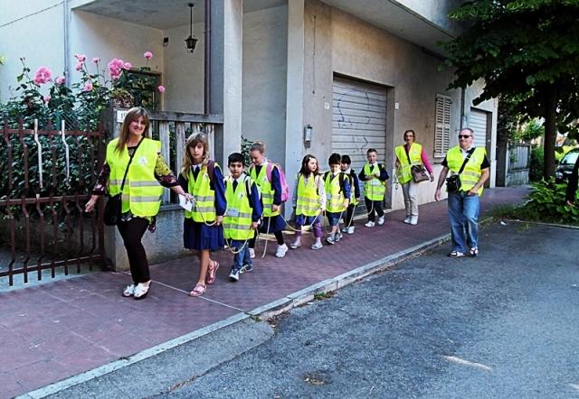Pedibus alla scuola Speranza di Grottammare 4
