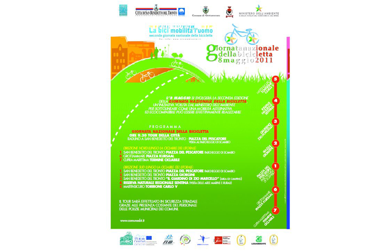 Il Programma della Giornata Nazionale della Bicicletta a San Benedetto