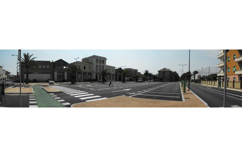 La nuova piazza del Pescatore
